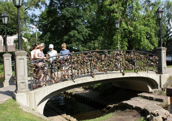 Vermanes Garden Park: Love bridge