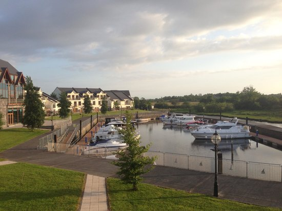 Leitrim Marina Hotel: View of the marina