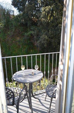 Antiche Mura Hotel: vistas al cañadon desde la habitacion con balcon