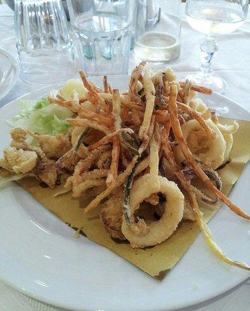 Ristorante Pizzeria La Colonna: Fritto di mare