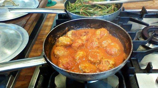 Ricotta filled meatballs - Foto di Enrica Rocca Cooking School Venice ...