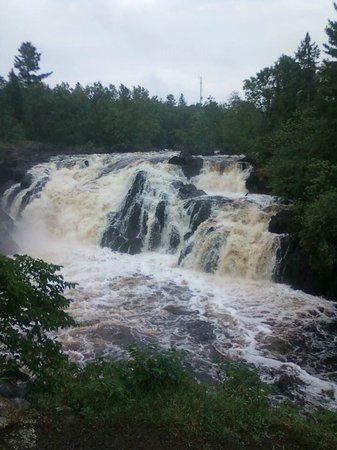 Ely, MN: A view of the Falls