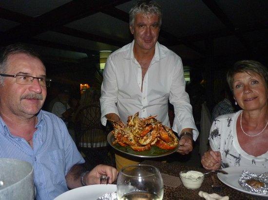 Las Palmas: L'arrivée des langoustes