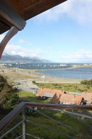 Cabañas Utaka: La vista desde su balcon