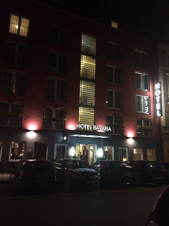 Bavaria Boutique Hotel : View from the street