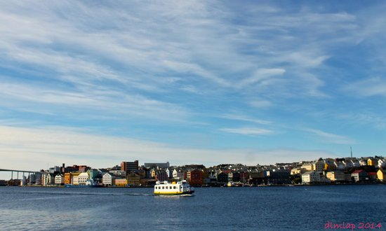 Kristiansund, Norway: adorable little ferry!