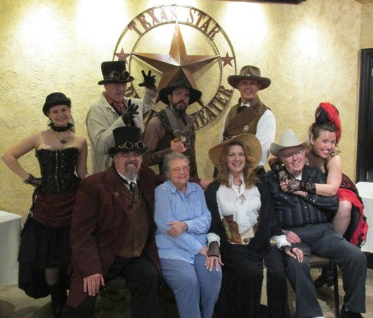 Texas Star Dinner Theater : The Cast with My Crew