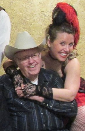Texas Star Dinner Theater : Did I mention that my father-in-law had a GREAT time?
