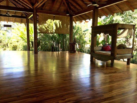 Pranamar Villas and Yoga Retreat : Yoga Shala
