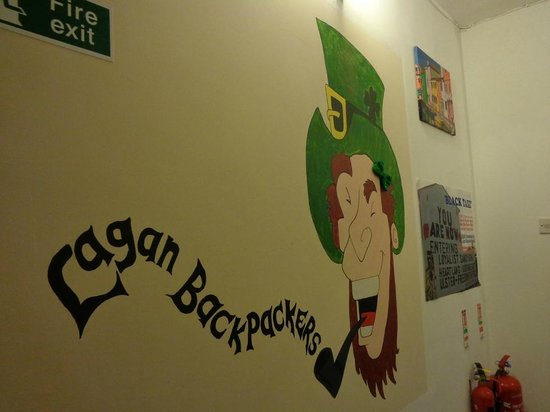 Lagan Backpackers: welcomming Irish guy