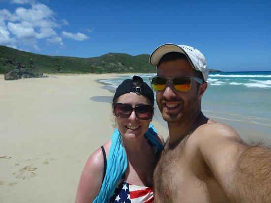 Casita Tropical: Resaca Beach (nobody there!)