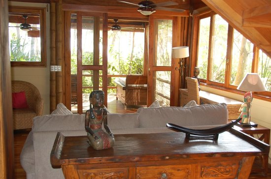 Pranamar Villas and Yoga Retreat: Beach Villa - living room
