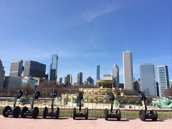 City Segway Tours Chicago : Fountain