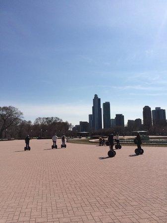 City Segway Tours Chicago : Riding