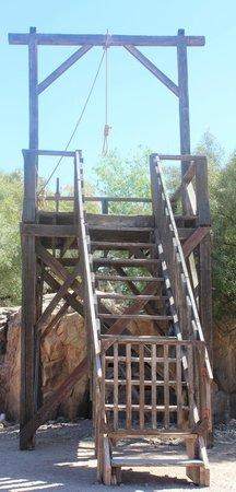 Old Tucson: hangman's gallows