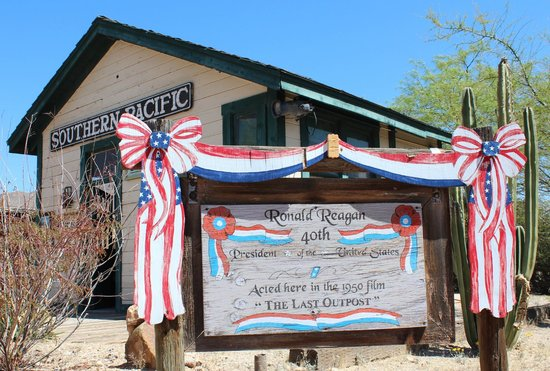Old Tucson : builing where Ronald Reagan acted