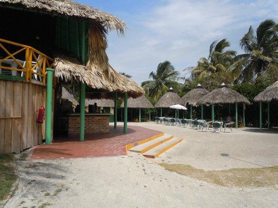 Hotel Los Cactus: Resto LOS BOHIOS grill BBQ