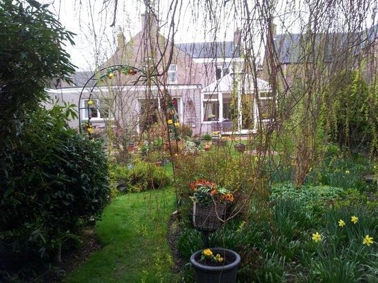 St Ann's House: Du fond du jardin