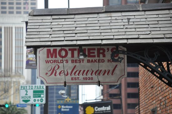 Mother's Restaurant : Sign Over Door