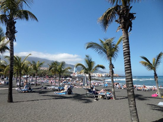 Playa Jardín: playa