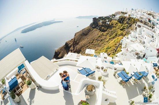 Lunch Picture Of Iconic Santorini A Boutique Cave Hotel Imerovigli