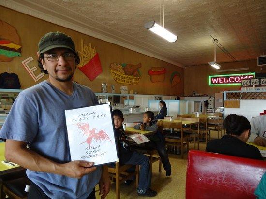 Eagle Cafe: Cook/owner