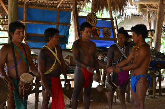Embera Village Tours & More: The local band
