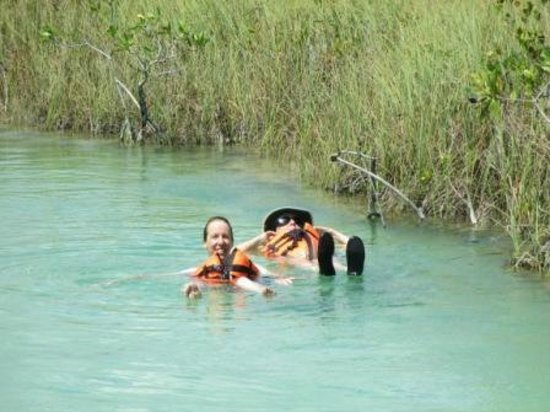 Chichen Itza With Jerry: Sian Ka'an floating down the Lazy River