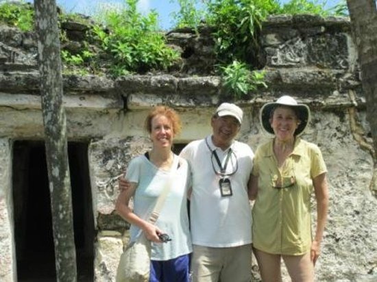 Chichen Itza With Jerry: Sian Ka'an ruins with Jerry