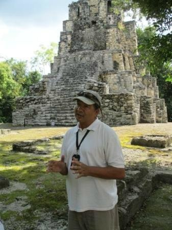 Chichen Itza With Jerry: Muyil with Jerry