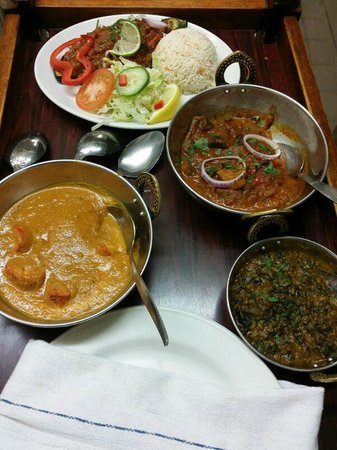 Taj Tandoori: Curry in a hurry!