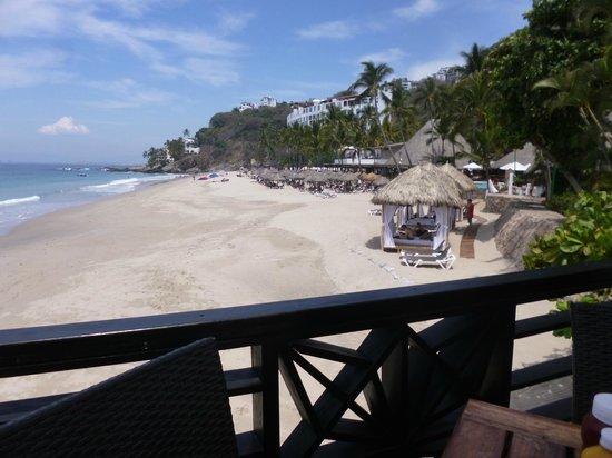 Hyatt Ziva Puerto Vallarta: A view of the beach.