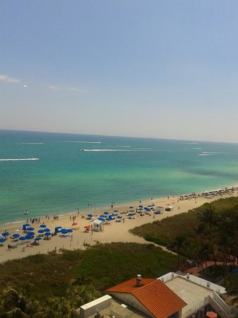 Grand Beach Hotel: vista desde el balcon
