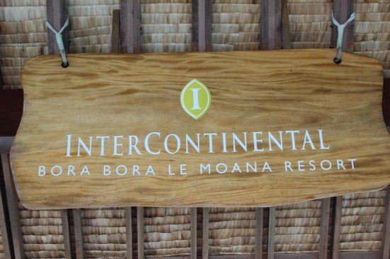 InterContinental Bora Bora Le Moana Resort: Hotel