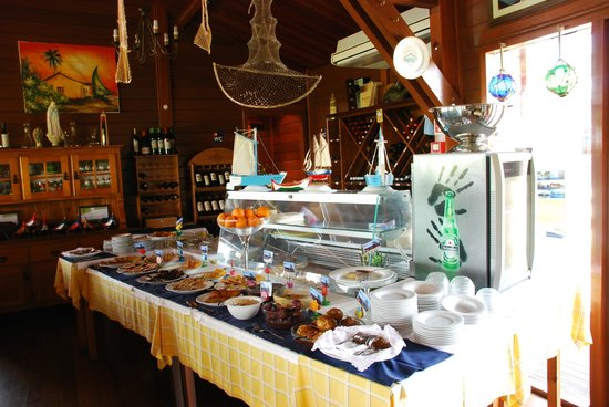 Salvaterra de Magos, Portugal: Buffet
