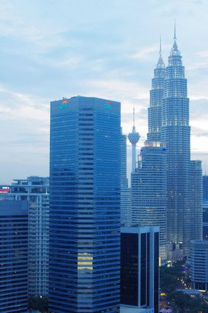 DoubleTree by Hilton Hotel Kuala Lumpur: View from the executive lounge terrace.