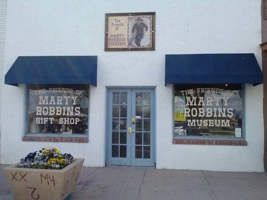 Willcox, AZ: Friends of Marty Robbins Museum