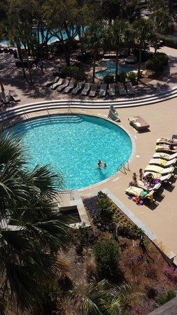 The Westin Hilton Head Island Resort & Spa : Balcony view of Kids Pool