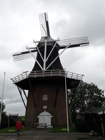 De molen van Vierhuizen .