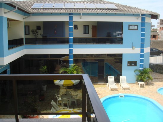 Bombinhas Praia Apart Hotel: La vista desde mi habitacion