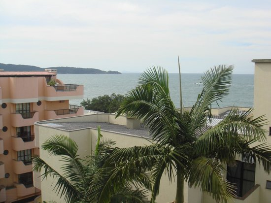 Bombinhas Praia Apart Hotel: Vista desde el tercer piso
