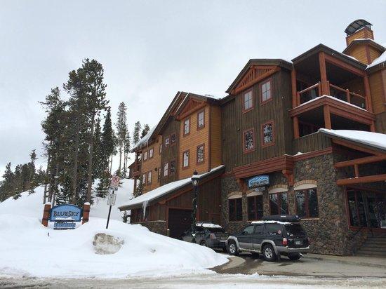 BlueSky Breckenridge: Back side of the condo