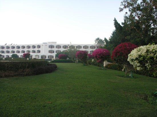 Baron Resort Sharm El Sheikh: Возле ресторана