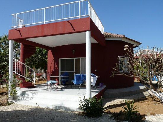 Domaine de la Mangrove : Vue d'un bungalow