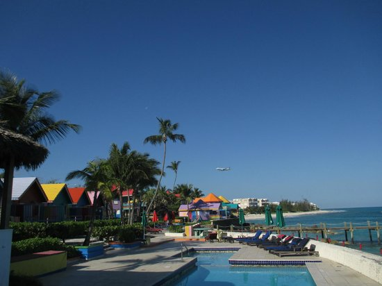 Compass Point: View from our table