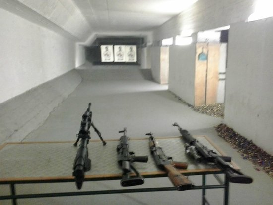 Outback Prague Shooting Range: Outback Prague Indoor Range