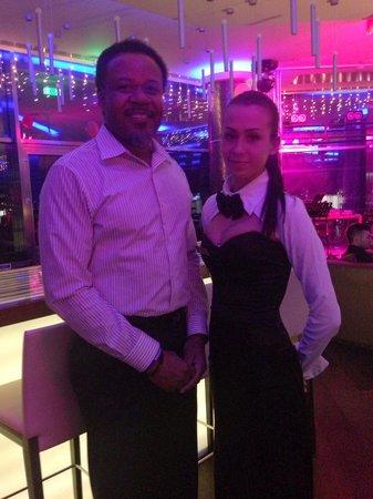 Kharkiv Palace Premier Hotel: Sky Lounge Hostess