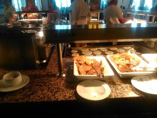 ClubHotel Riu Bambu: restaurante