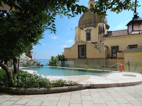 Hotel Palazzo Murat : The pool area