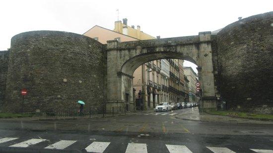 Las murallas romanas de Lugo: стены Луго
